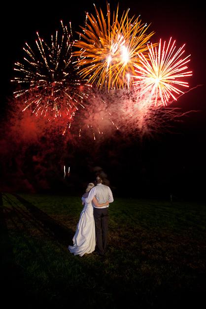 firework photographer wedding