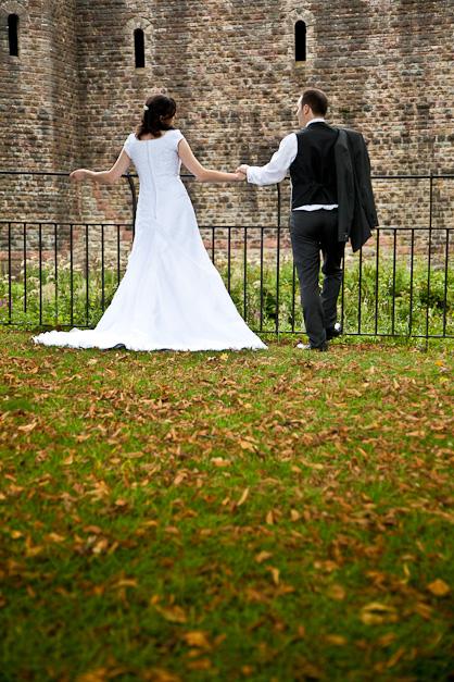 Nathan and Rachel – Cardiff wedding, Bute Park photos