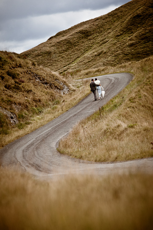 Wedding at the remotest spot in Wales – Misha and Huw