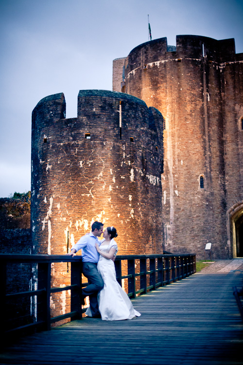 Lisa and Sam's wedding at Caerphilly Castle