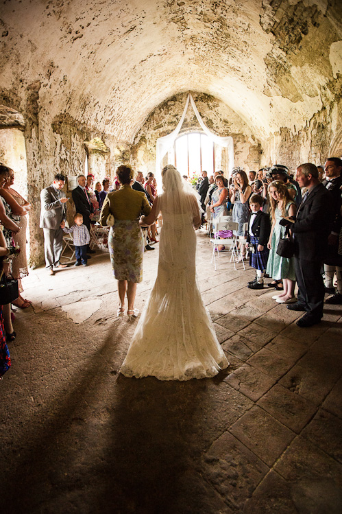 Manorbier Castle Wedding with Kristine and Martin