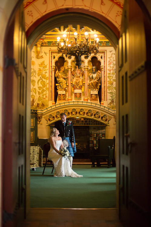Wedding Photography at Castell Coch with Laura and Dominic
