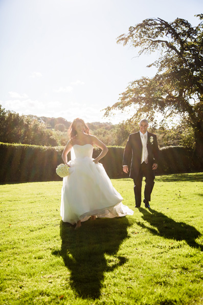 Love in the Sun: Catrin and Rob at TyGlyn Mansion