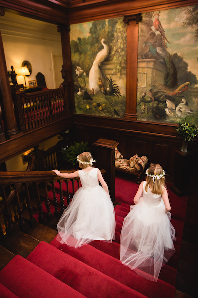 Winter Wedding with Bonnie and Rhodri at Llangoed Hall
