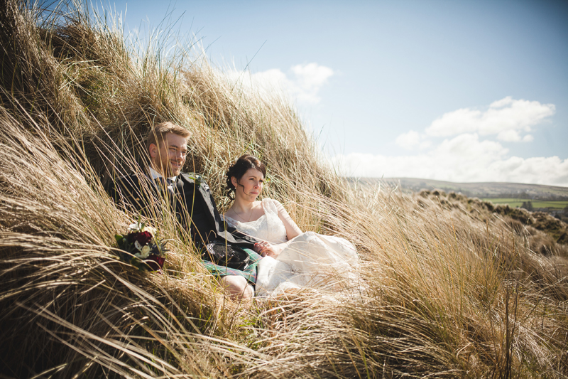 Wedding at Newport Golf Links by Whole Picture