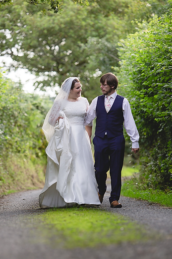 Summer wedding at Myddfaii Village Hall by Whole Picture Weddings