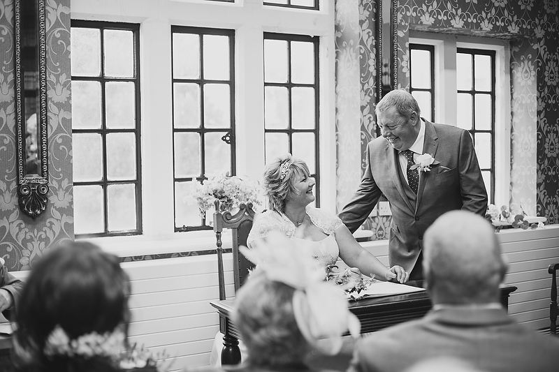 Classic Black and White Wedding Photography with Claire and Euros