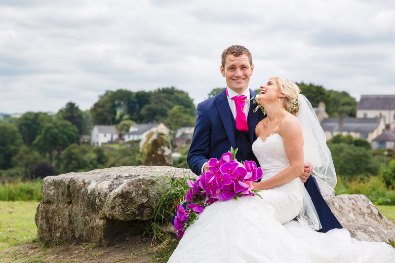 Joy and Emyr – Pembrokeshire wedding at home